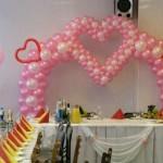 Воздушные шары на свадьбу как выбрать