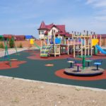 Детские площадки: виды покрытий и их преимущества